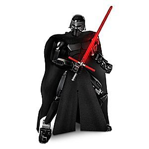 Kylo Ren Figure by LEGO - Star Wars | Disney Store Join the powerful First Order leader, Kylo Ren, as he strides into battle. Grab the special Lightsaber, turn the wheel to swing his arm and see Resistance forces run!