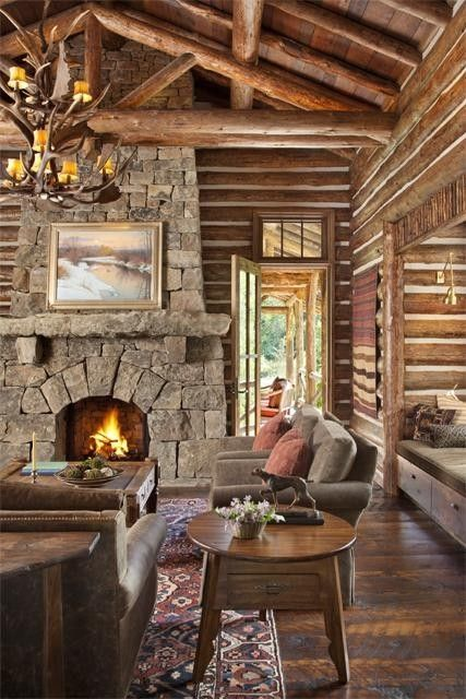 358 best wood and stone. images on pinterest | log cabins, rustic