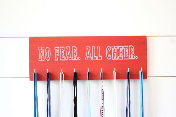 Cheerleader Medal & Bow Holder - Cheerleading - Cheer - Medium