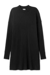 <p>The Ron Knitted Dress has a straight fit with long sleeves and a high…