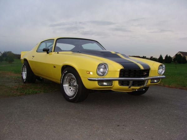 1972 Z28 Camaro For Sale