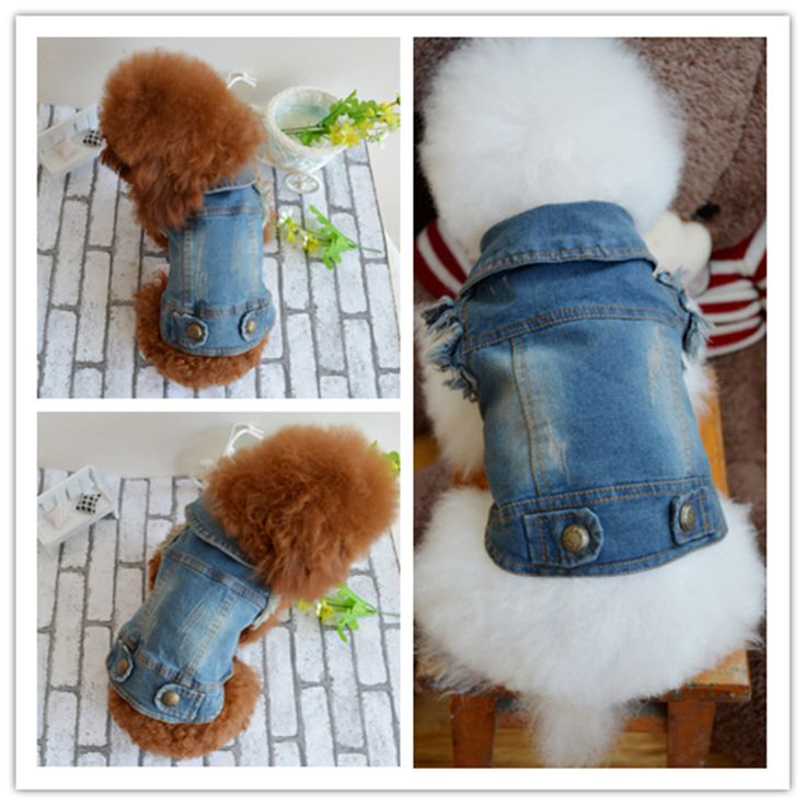 2016 fashion Denim Pet Dog Jacket Clothing Personalized Puppy Cat Jeans Vest Coat Dog Clothes for Teddy Poodle Chihuahua // FREE Shipping //     Get it here ---> https://thepetscastle.com/2016-fashion-denim-pet-dog-jacket-clothing-personalized-puppy-cat-jeans-vest-coat-dog-clothes-for-teddy-poodle-chihuahua/    #dog #dog #puppy #pet #pets #dogsitting #ilovemydog #lovedogs #lovepuppies #hound #adorable #doglover