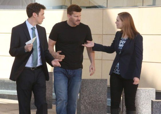 Booth, Brennan, and Sweets Working Together - Bones Season 10 Episode 1