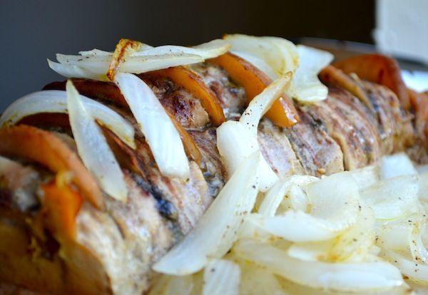 Apple Cinnamon Slow Cooker Pork Loin from Rachel Schultz