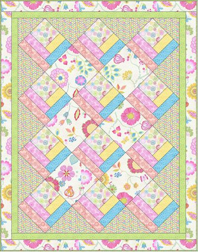 free baby quilt patterns Download Free Pattern Happy Day by Windham Fabrics. Free Sewing  free baby quilt patterns