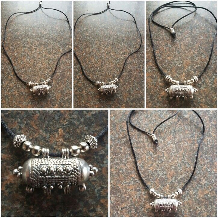 Indian style men's protection  amulet  silver #mensjewelry