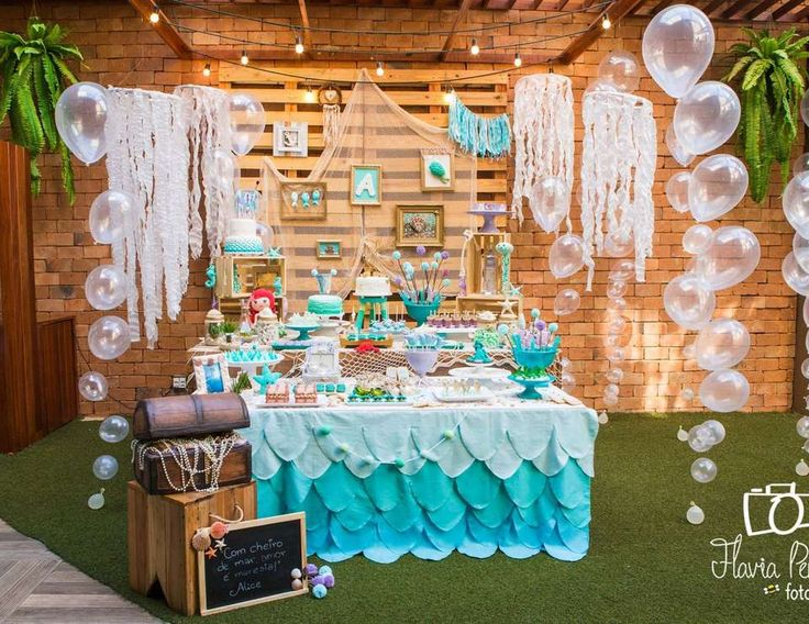 """The Little Mermaid / Birthday """"Alice's Under the Sea"""" 