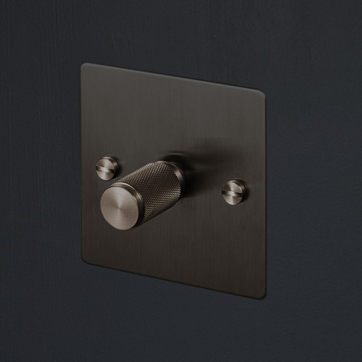 Switches & Dimmers - Smoked Bronze