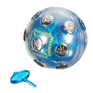 Electric Shock Ball Shocking Glowing Game Hot Potato Game Party Entertainment Sale - Banggood.com