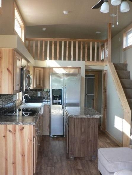 Perfect size home, could use a little headroom upstairs. Sunnyside-Park-Model-003
