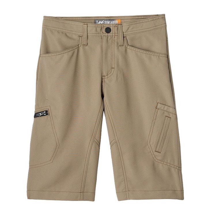 Boys 8-20 Lee Dungarees Grafton Easy-Care Shorts, Boy's, Size: 14, Dark Beige