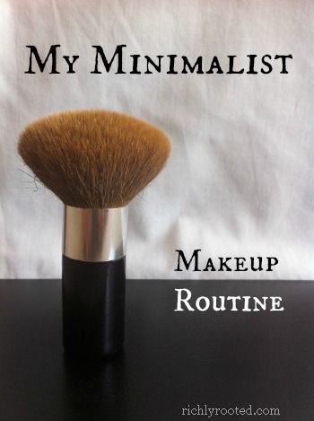 It's amazing how much time you can save in the morning with a simplified makeup routine! Here's my minimalist makeup routine, which takes just 5 minutes. richlyrooted.com/...