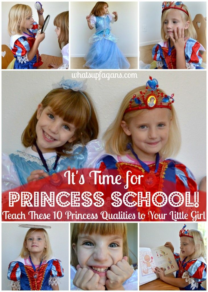 Such a cute list of Princess qualities and characteristics! Love the idea of taking my girls to Princess school, Disney style! #DisneyBeauties #shop #cbias