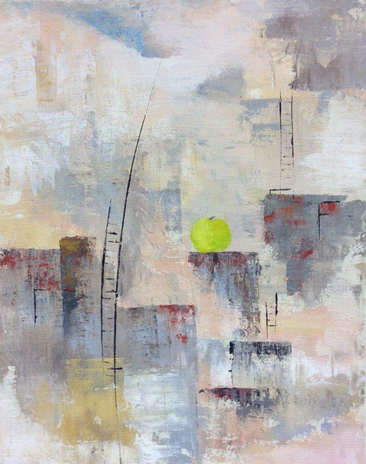 Cityscape 3,  Acryl  50x70 cm
