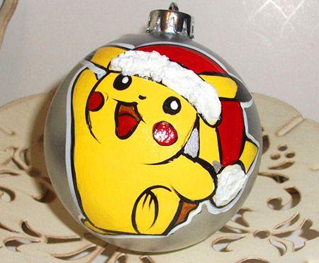 18 Cool Pokemon Christmas Ornaments for Geeks - TechEBlog