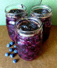 Quick & Easy Blueberry Freezer Jam
