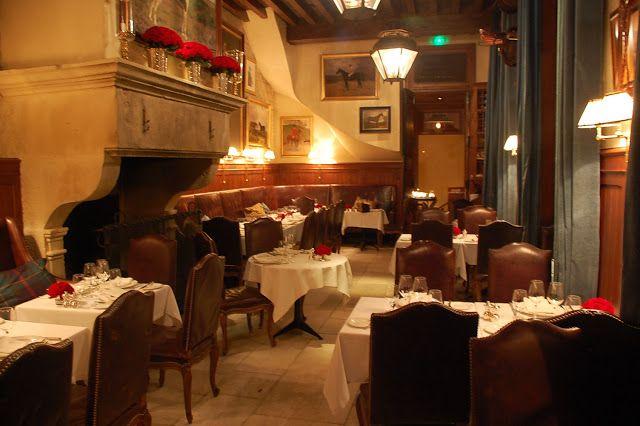 Ralph Laurens restaurant in Paris...The Clothes Whisperer