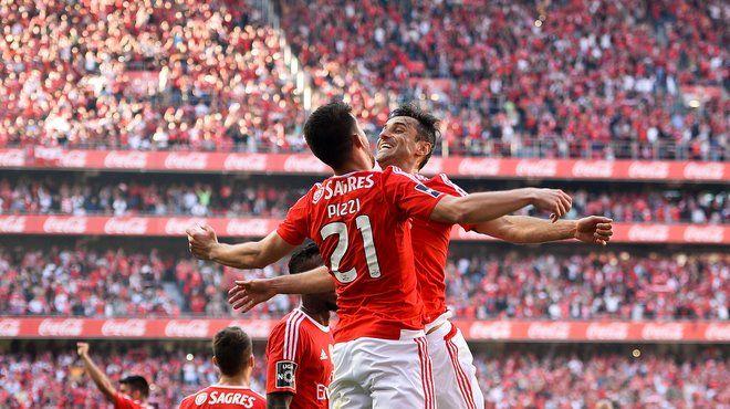 FBL-POR-LIGA-BENFICA-NACIONAL -Sport.de - Portugal: Benfica Lissabon zum 35. Mal Meister - Sanches gesperrt