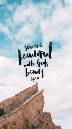 "Good morning! You're beautiful with God's beauty, beautiful inside and out! God be with you. Luke 1:28 - If you could write a letter to yourself and post it back to the ""1st-January-2015-you"" to prepare you for the year ahead, what would you say?For me, the last 12 months have taught me to live with open hands and an open heart. Open to my neighbour and enemy alike. I've learned (some more) to make plans, but not set them in stone..."