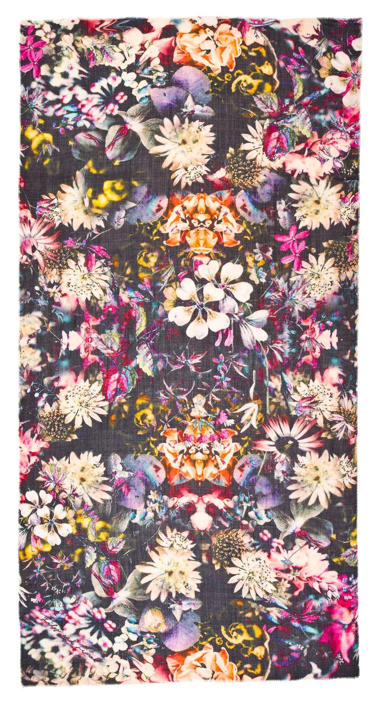 Celeste Black Floral #LilyandLionel #AW14 #LoveFromLondon