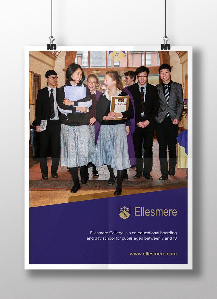 Ellesmere College Recruitment Poster