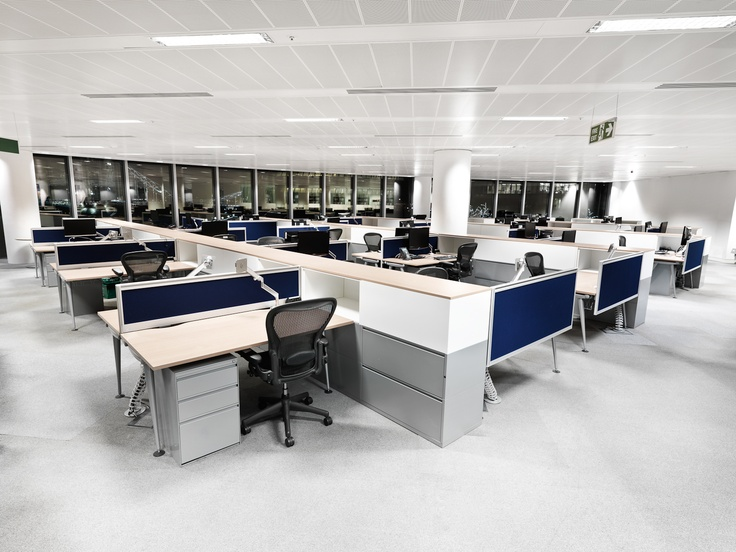 Herman Miller Aeron Chairs, Abak Environments Desking & Meridian Storage