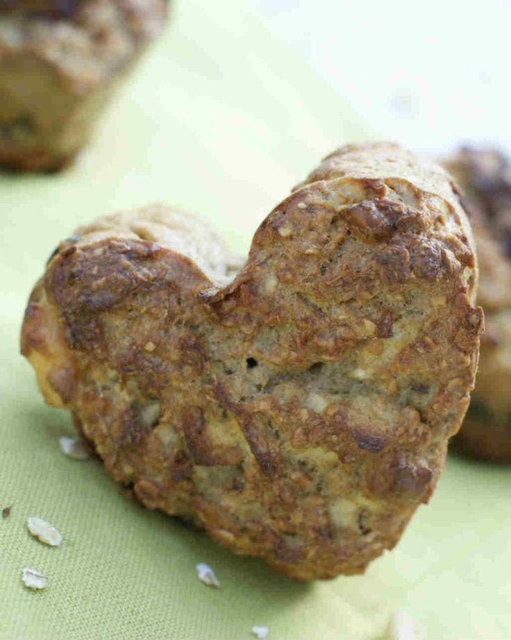 gezonde havermout muffin met vijgen