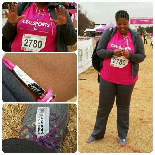 #TotalSportsLadiesRace 10km! #Thapelogettingitright #FortheLoveofFitness #Wellness #Motivated #Endurance #Loveit ♡