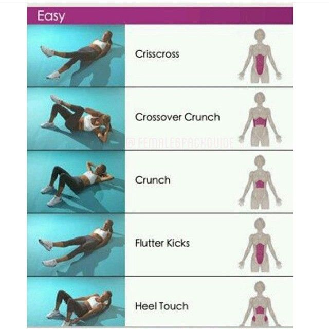 Tag your friends to challenge them@with these exercises via @female6packguide #sixpackfemmes