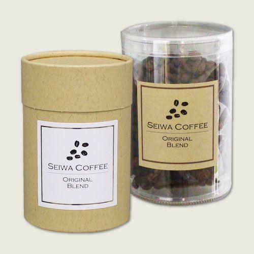 コーヒーのシンプルパッケージ<br />【ラベルテンプレート】