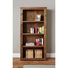 Heyford Rough Sawn Oak 180cm Bookcase