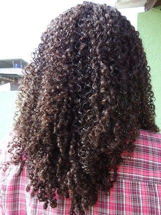 Anastacia // 4A Natural Hair Style Icon | Black Girl with Long Hair