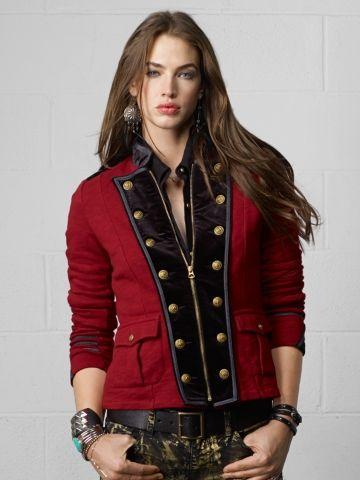 Velvet Lapel Jacket - Denim & Supply  Jackets - RalphLauren.com