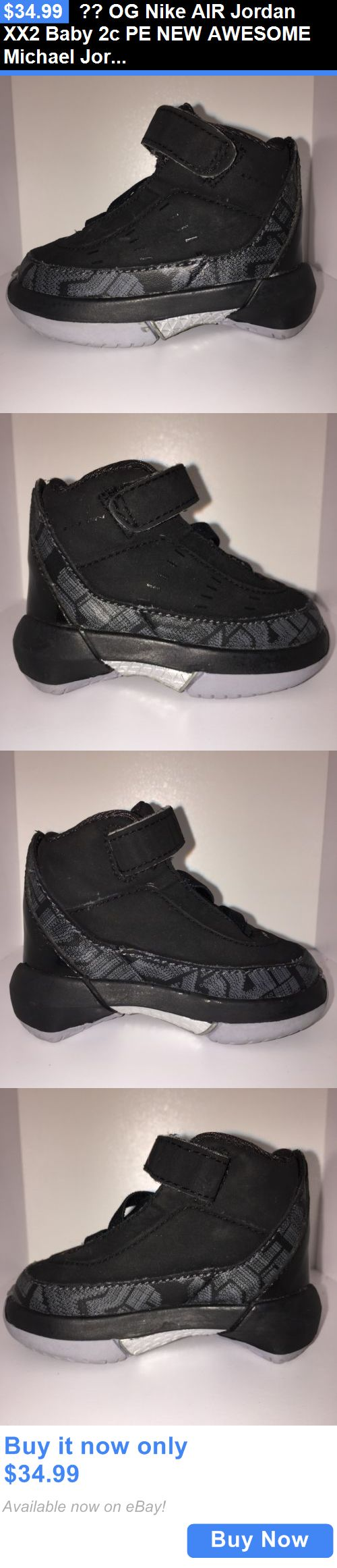 Michael Jordan Baby Clothing: ?? Og Nike Air Jordan Xx2 Baby 2C Pe New Awesome Michael Jordan Basketball Bulls BUY IT NOW ONLY: $34.99