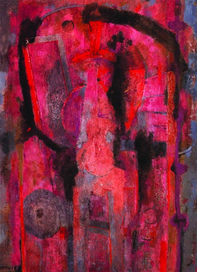 by Rufino Tamayo (I wish I knew more about this amazing painting, I've been looking all over the web for information, but haven't found anything reliable)