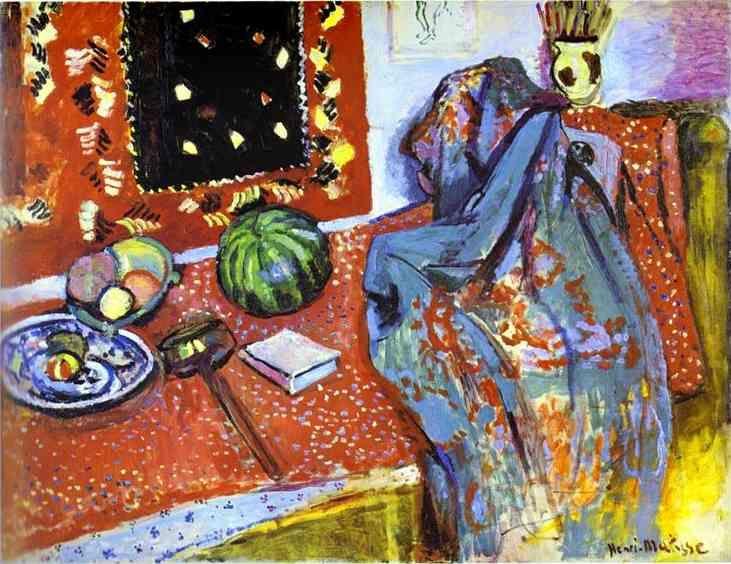 Matisse. Oriental Rugs. 1906. Oil on canvas. Musée de Peinture et de Sculpture, Grenoble, France