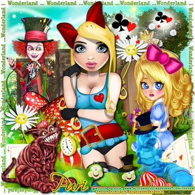 "MI RINCÓN GÓTICO: CT for Kizzed by Kelz, ""Wonderland"""