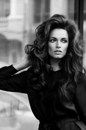 Volume -what every girl strives for in life, I would sell my soul to the devil for this big hair!!