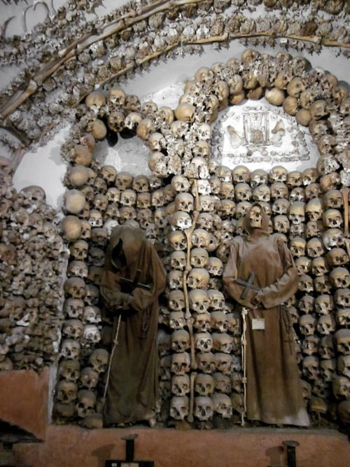 Crypt of the Capuchin Monks in Rome