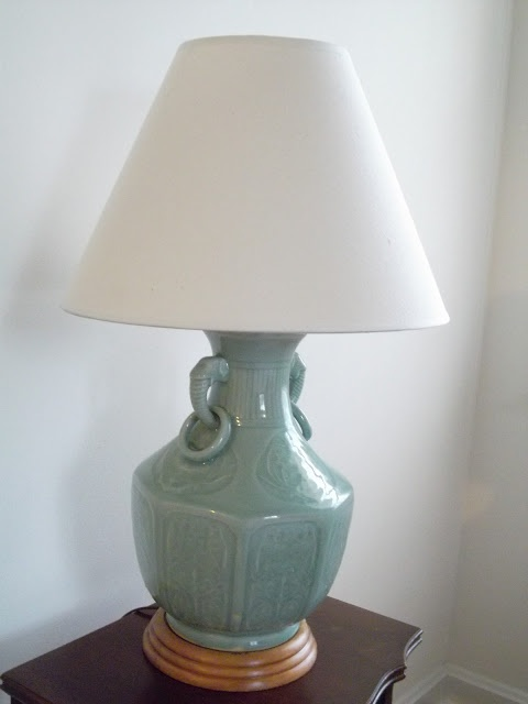 How to make a lamp from a vase