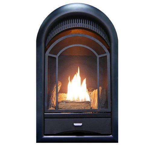 Procom Ventless Fireplace Insert Thermostat Control Arched Door
