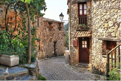 Ancient Medival Street in Portugal