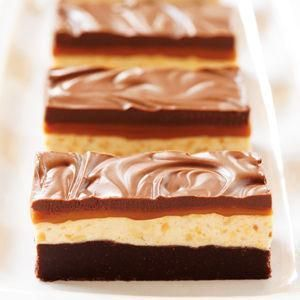 Chocolate Caramel Commotion Bars Recipefrom our friends at Eagle Brand®