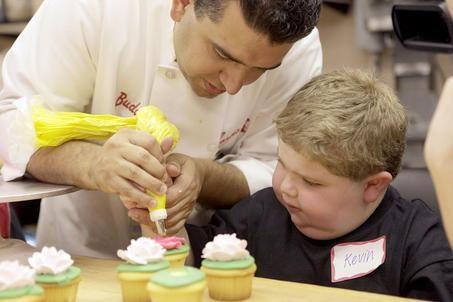 Cupcake de baunilha do Buddy Valastro (Cake Boss)