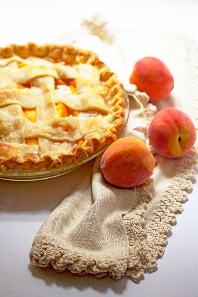 Fresh Peach Pie Recipe - Grandbaby Cakes