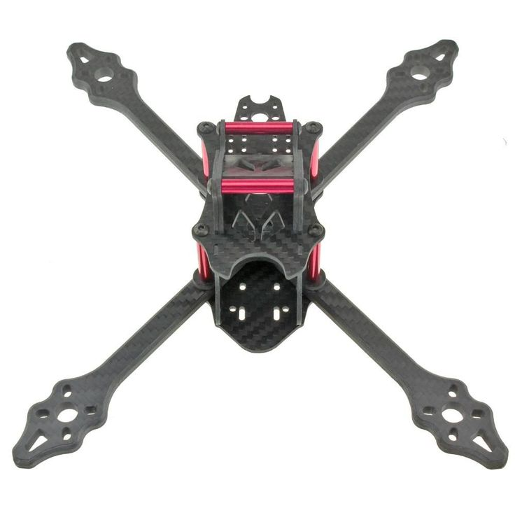 VX210-V2 VX210 210MM Full Carbon Fiber 4mm Arm for Mini Four Axis Multicopter FPV Racing Drone