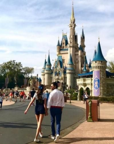 nice John Stamos, girlfriend Caitlin McHugh visit Disney World Check more at https://epeak.info/2017/03/06/john-stamos-girlfriend-caitlin-mchugh-visit-disney-world/