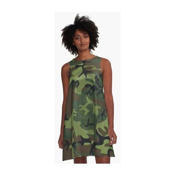 Woodland Green Camouflage with Hidden Face ❤ liked on Polyvore featuring tops, v neck tops, camouflage top, chiffon tops, camo top and green chiffon top