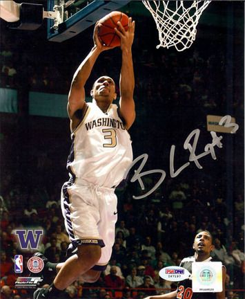 "Brandon Roy Washington Huskies NCAA Autographed 8 x 10 Photograph: ""Enjoy this item hand signed by… #sports #sportsshopping #sportswear"