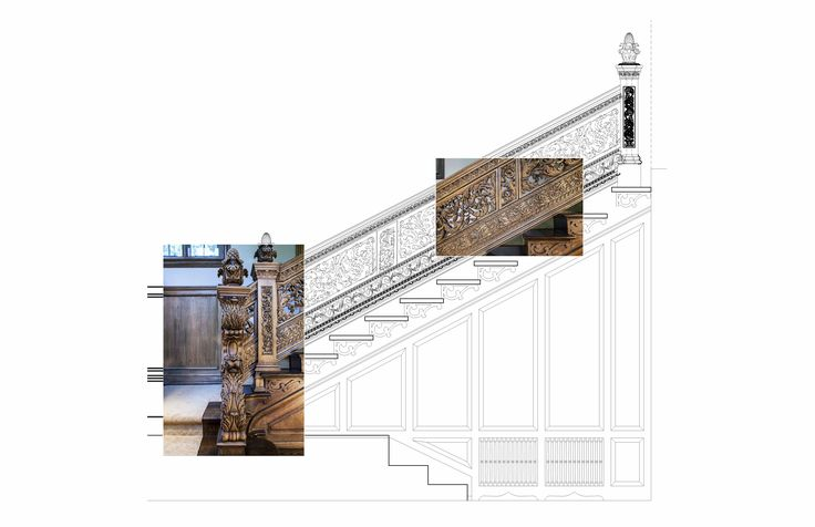 Precision from design to finish. Replica of the staircase at the metropolitan museum in NY.